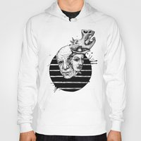 picasso Hoodies featuring Picasso by Benson Koo