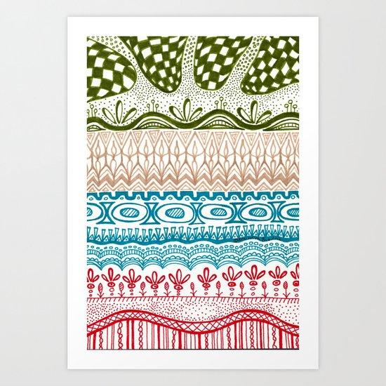 Pembroke Art Print