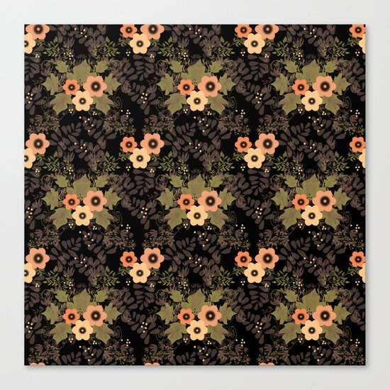 The floral pattern . Canvas Print