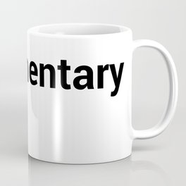 documentary Coffee Mug