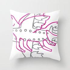 Aeroplane Throw Pillow
