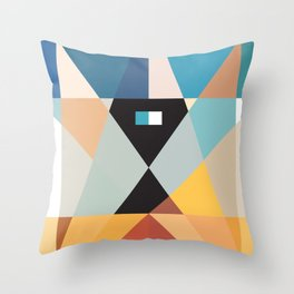 Deconstruct Ned Kelly Throw Pillow
