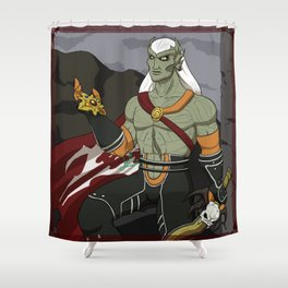 Kain the guardian of Balance and vampire King Shower Curtain