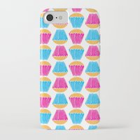 cupcakes iPhone & iPod Cases featuring Cupcakes by Apple Kaur