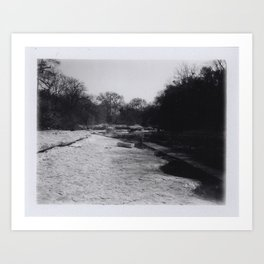 Creek Bed Art Print