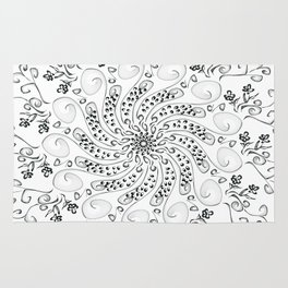Flower Mandala Rug
