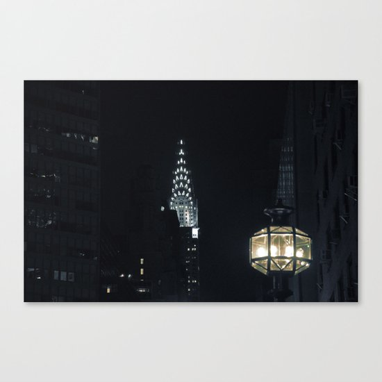 Spectral City Canvas Print