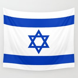 Flag of the State of Israel - High Quality Image Wall Tapestry