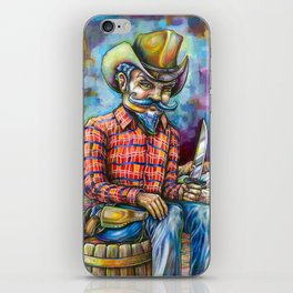 Gunslinger iPhone Skin