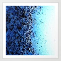crystals Art Prints featuring CrystalS by 2sweet4words Designs