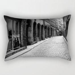 Stone pavement street: Vieux Lyon Rectangular Pillow