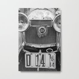 Classic Buick Metal Print