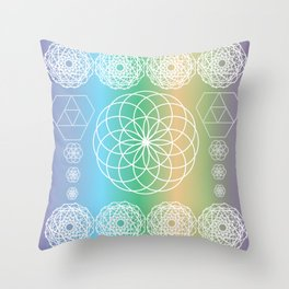 Native Mind Throw Pillow
