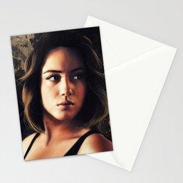 Daisy Johnson. Agent of SHIELD Stationery Cards