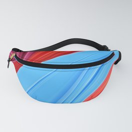 Abstract landscape: plastic wave #2 Fanny Pack