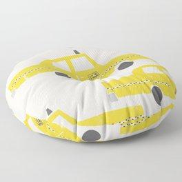 New York Taxicab Floor Pillow
