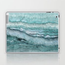 Mystic Stone Aqua Teal Laptop & iPad Skin