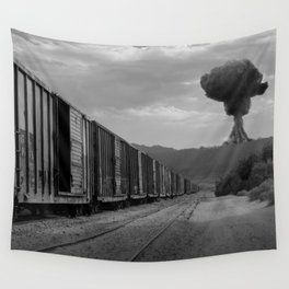 Nuke Train Wall Tapestry
