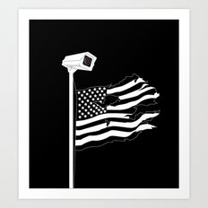 And the star-spangled banner in triumph shall wave Art Print