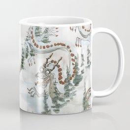 Winter Ski Dragon Coffee Mug