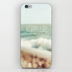 Beach - My Happy Place iPhone & iPod Skin
