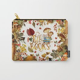 Fall Into Books Carry-All Pouch