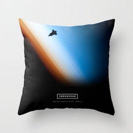 Endeavour Throw Pillow