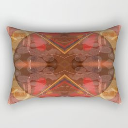 Mandala with Brussels Laces Rectangular Pillow