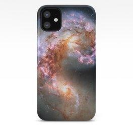Antennae Galaxies iPhone Case