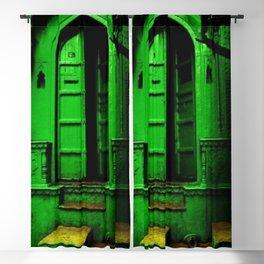 In the Dark Back Allies Secret Doorway Blackout Curtain