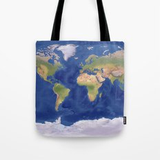 A Beautiful World  Tote Bag