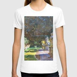 "John Singer Sargent ""Villa di Marlia, Lucca"" T-shirt"
