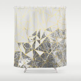Ab Marb 2 Shower Curtain