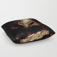 Born in a Burial Gown Floor Pillow