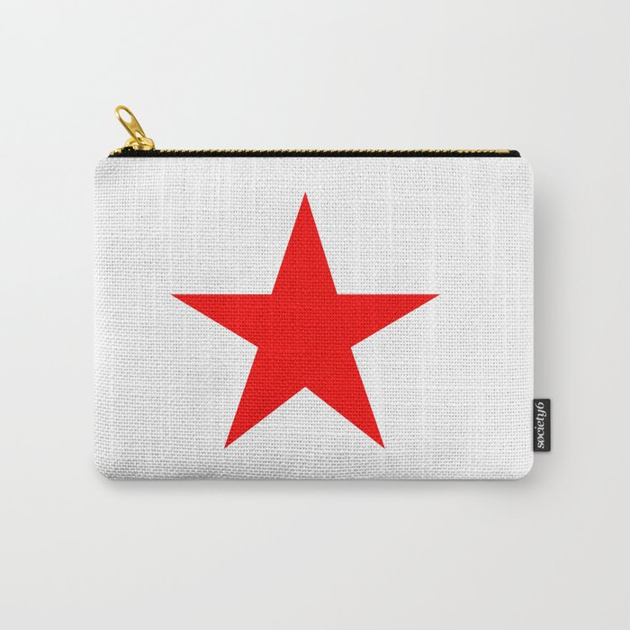 Red Star Carry-All Pouch