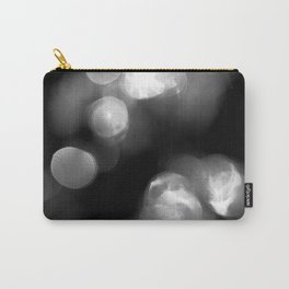 Black and White Circles Carry-All Pouch