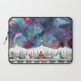 Mountain Camp Vibes Laptop Sleeve