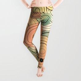 Layered circles Leggings