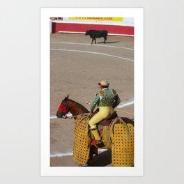 bull ring Art Print