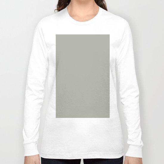Simply Retro Gray Long Sleeve T-shirt