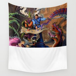 Hero Wanted Wall Tapestry