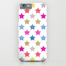 Colorful Star III iPhone Case