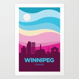 Winnipeg (Spring) Art Print