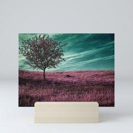 Pink three Mini Art Print