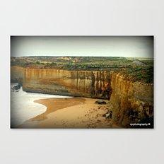 Gigantic limestone Cliffs Canvas Print