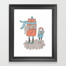 Our Cats Framed Art Print
