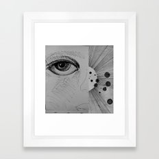 cosmic consciousness Framed Art Print