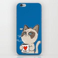Grumpy's Mid-week Blues iPhone & iPod Skin