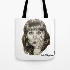 Asha Cuthbert    By Davy Wong Tote Bag