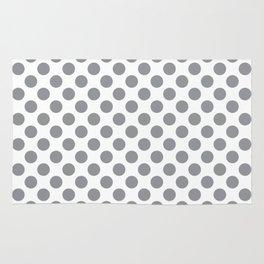Grey Polka Dots Rug